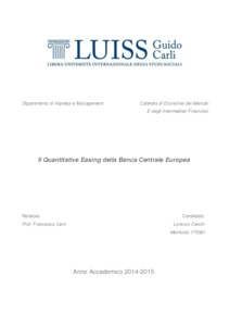 dissertations on quantitative easing 1 the macroeconomic effects of quantitative easing richard swain this thesis is submitted in partial fulfillment of the requirements for the degree of.