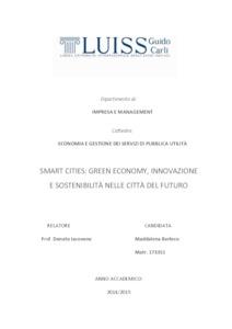 Thesis on green economy